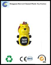 Plastic toy novelty cheap promotion telescopic ballpen
