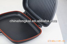 32cm double sided frying pan with non stick coating