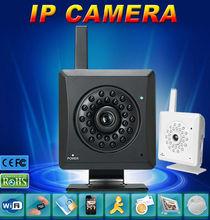 Multifunction Wifi+LAN H.264 720P IP Camera Motion Detect Alarm