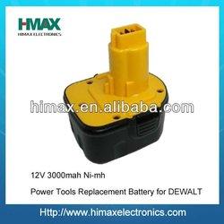 12V Drill battery for Dewalt (DW9072 DW9071 DC9071)