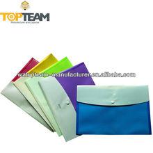 plastic wallets a4, plastic folder, documents enclosed wallets