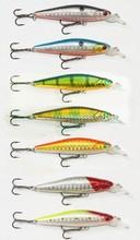 ZM01D-B01F Fish Hunter Hard Lure Minnow Fishing Equipment