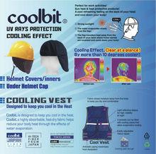 Under helmet cooling caps