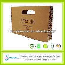 printed kraft paper bags nice handle
