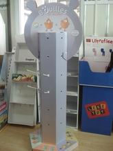 promotion cardboard dolls display stand for supermarket