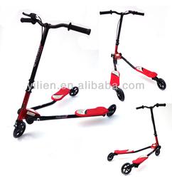 EN71 adult big wheels kickbike,frog scooter,kick scooter with foldable