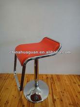 Height adjustable swivel bistro stool