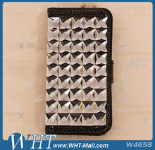 Black Luxury Bling Diamond Crystal Case Cover For iPhone 4S
