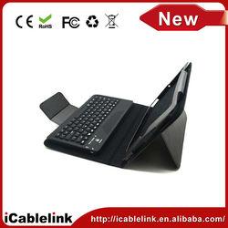 Wireless Bluetooth 3.0 keyboard for ipad mini mickey mouse/hello kitty 2 minion case