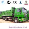 camion benne howo shacman et utilisé avec euro4 moteur