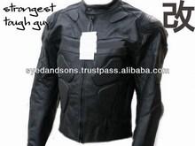 Leather Motorbike Racing Protective Jacket