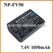 NP-FV50 3.7v fv50 li-ion battery for Sony camera