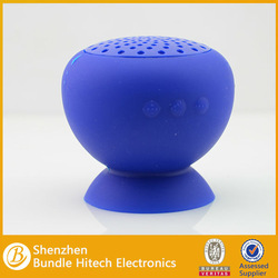 mini digital speaker. 3.5mm silicone stand portable speaker china supplier