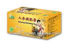 Chinese ginseng herbal tea Oolong tea benefits tea
