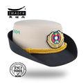 Mujeres militar lado gorras y oficial de cubo sombreros