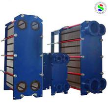 plate type gasketed aluminium crossflow heat exchanger