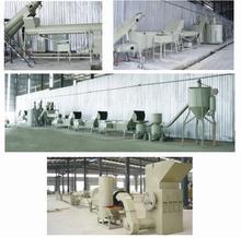 High capacity PET Crushing and washing line