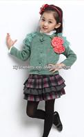 2013 winter new style 100%cotton fleece children's sweater
