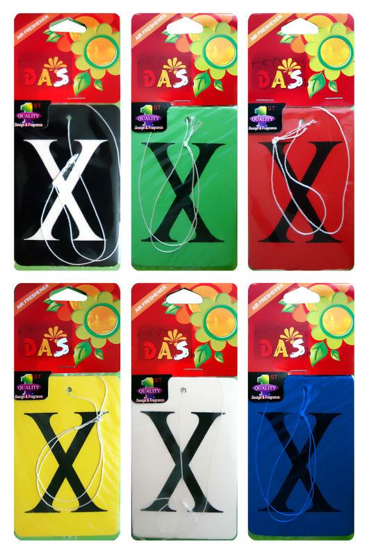X Car Fresheners