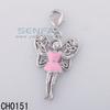 Chain Wholesale Beautiful Girl Charm For Bracelet