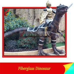 professional theme park resin dinosaur sculpture