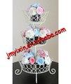 Alambre de hierro de la torta es sinónimo de torta de la boda/pop pastel de soporte de exhibición para la fiesta de cumpleaños