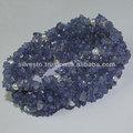 En bruto naturales azul calcedonia y de la perla pulsera hechos a mano aprox 6 pulgadas largo