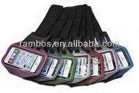 Sport Armband Mobile Phone Case Polka Dot Design Case for iPhone 5 5s