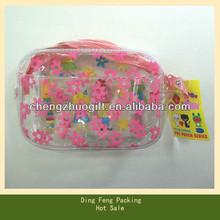 Heat Sealed PVC Bag for Kids Gift Beauty Pack