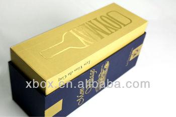 cardboard paper wine carrier