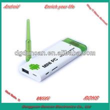 GV008 Android 4.1 Dual Core HDMI Android TV Dongle Mini PC HDMI Stick - White