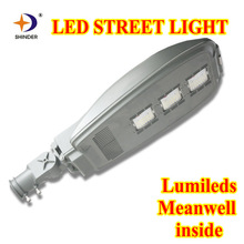 100w led light street with ies files led street lighting lumileds chips and meanwell driver 3years warranty
