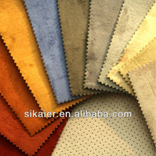 Suede classic car seat upholstery fabric