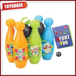 Kids sport plastic bowling ball