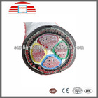 factory price Low Voltage 600V XLPE-insulatd and PVC-sheathed Al-conductor 4 core aluminium power cable