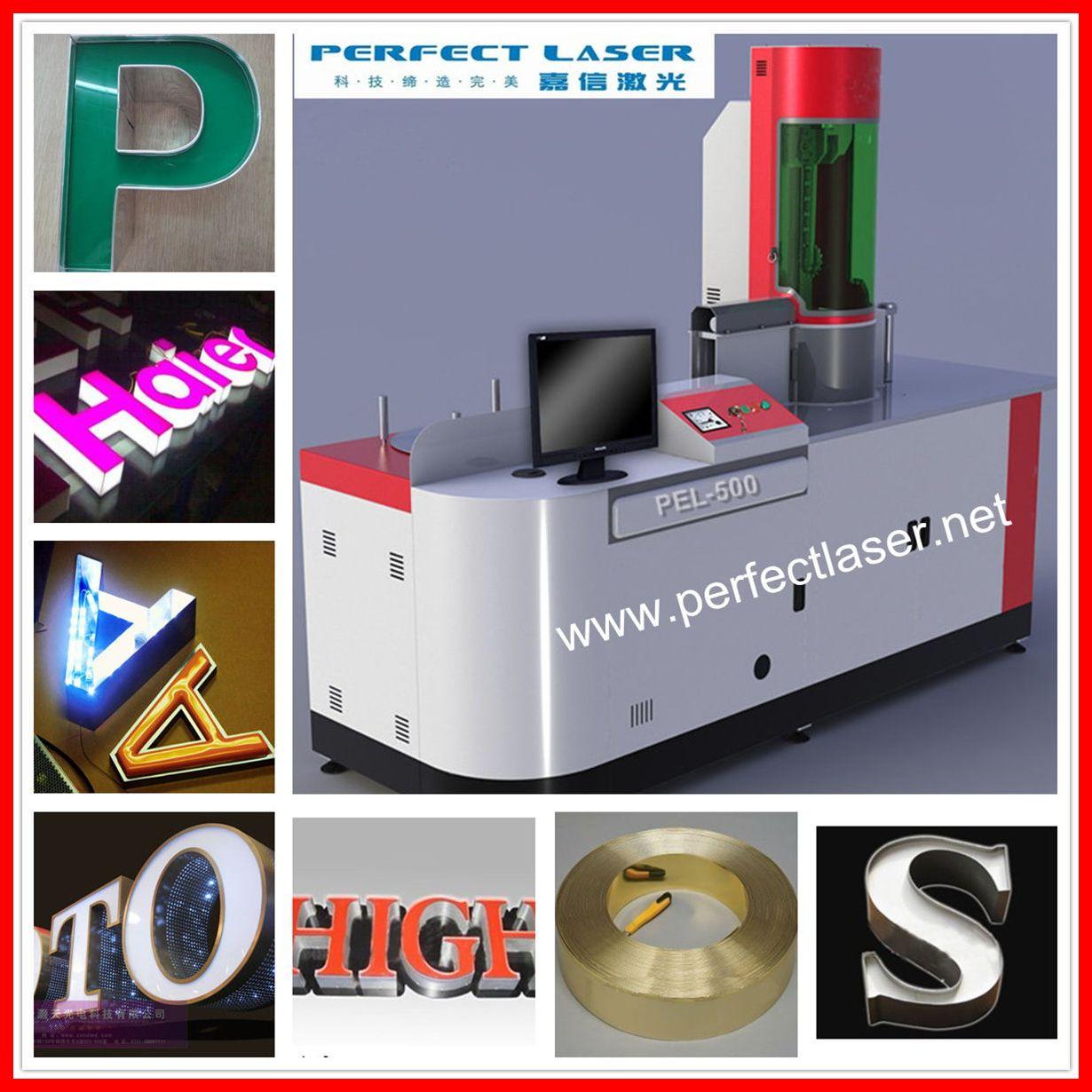led sign board making machine