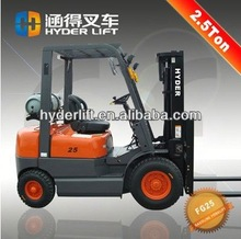 China 2.5t 1.5t gas lpg forklift spare parts forklift truck toyota