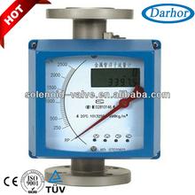A prueba de calor Industrial de gas del totalizador de flujo medidor
