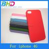 Wholesale phone case For Iphone 4 plastic hard case Matte antiskid