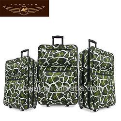 2014 animal print luggage