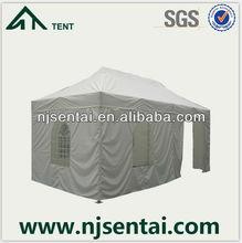 4x6M Waterproof Fire Retardant Advertisement stretch beach waterproof gazebo with sides/house shaped tents/grill gazebo