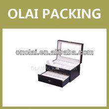 luxury leather blank watch case wholesale