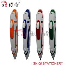 Colorful race car shaped ballpoint pen