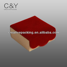 Beautiful paper caramel gift packaging boxes/mini different types