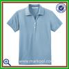 Ladies dri fit golf polo shirt sport tech light blue