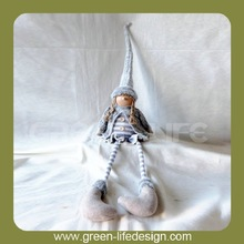 Grey girl fabric crafts to sell