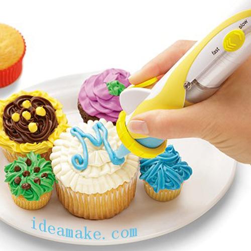 น้ำตาลปากกาdecoสำหรับเค้กเท่าที่เห็นในทีวีที่ทำจากอาหารเกรดpp