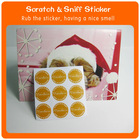 Scented Candle sticker packaging box sticker