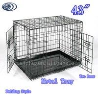 """48"""" Large Folding Dog Crates"""