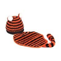 Hot sale crochet animal hat tiger animal hat for kids